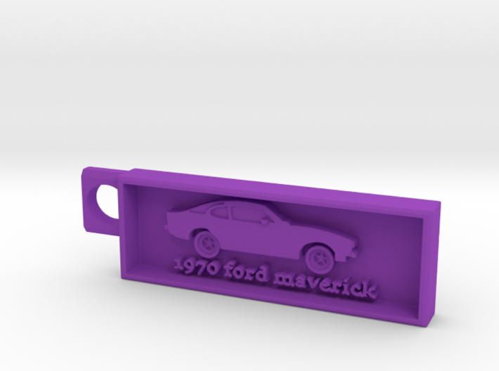 1970 Ford Maverick 3d printed