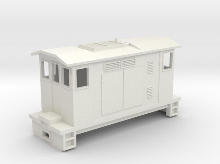"HOn30 Boxcab Locomotive (""Maud"" V1) 3d printed"
