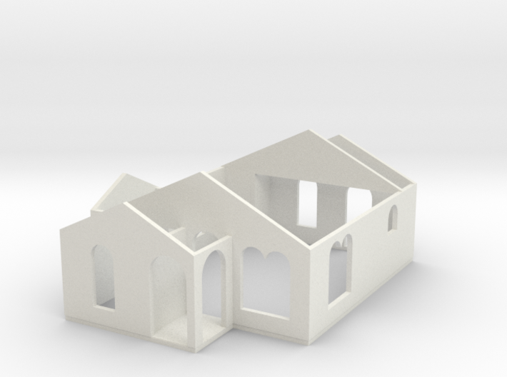 Small House 02a 3d printed