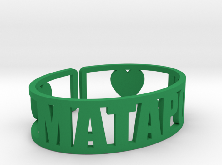Mataponi Cuff 3d printed