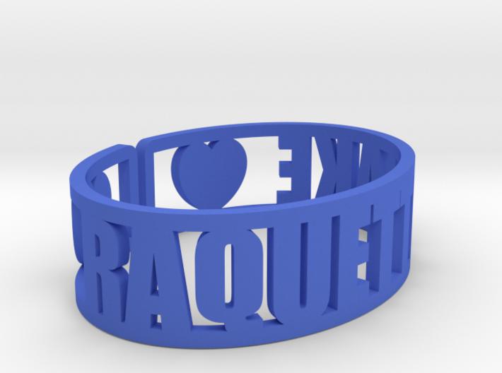 Raquette Lake Cuff 3d printed