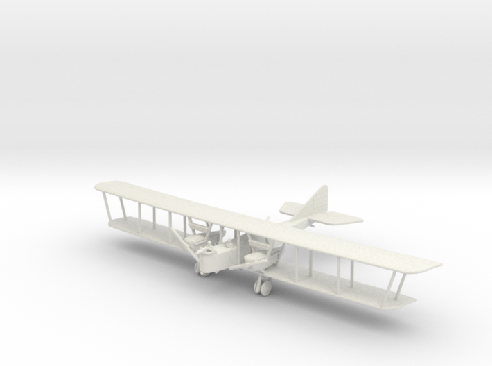 Farman F.50 3d printed 1:144 Farman F.50 in WSF