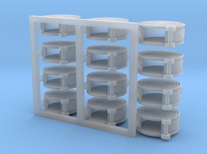 12 Portable BARN/SHOP FANS 3d printed