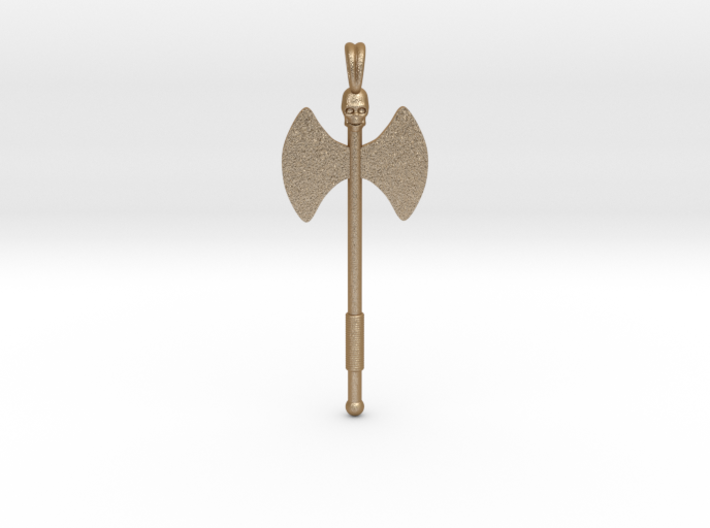 Labrys Double Blade Axe Symbol Jewelry Pendant 3d printed