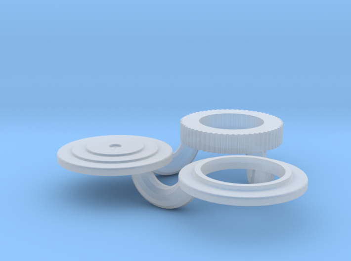 1/18 Small 8 In Round Air Cleaner 3d printed