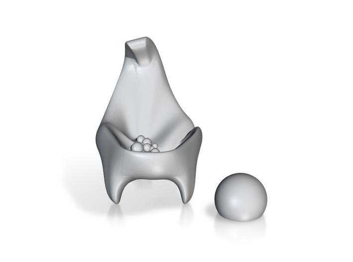Scoop - Art for Tabletops 3d printed