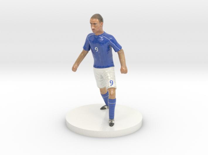 Italian Football Player 3d printed