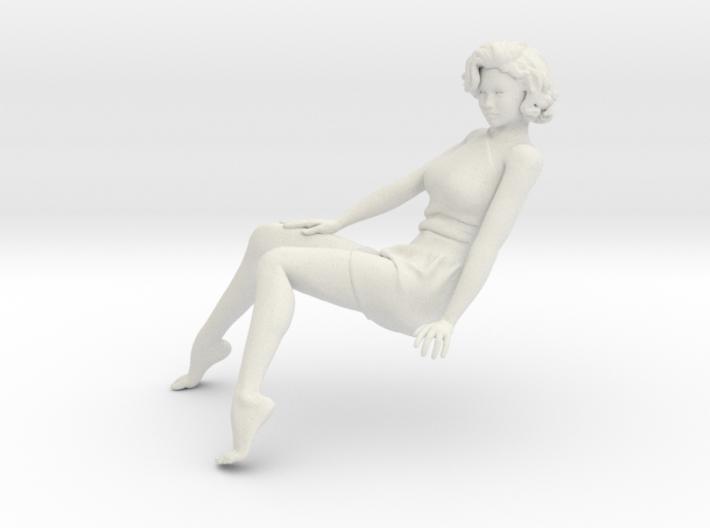 1/18 Sit Lady-013 3d printed
