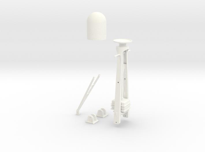 1-20 Radar Mast For PT BOAT 3d printed
