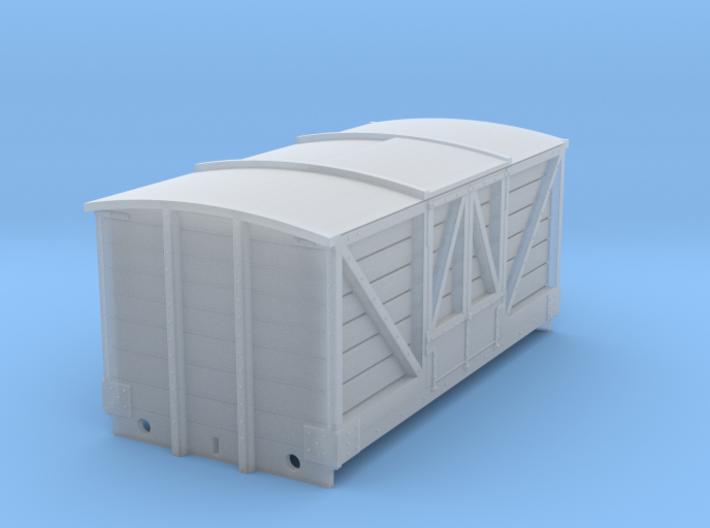LNWR D15 Beer Van -1:152 (Updated) 3d printed