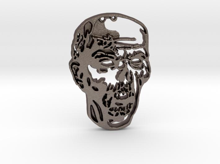 Zombie 3 pendant 3d printed
