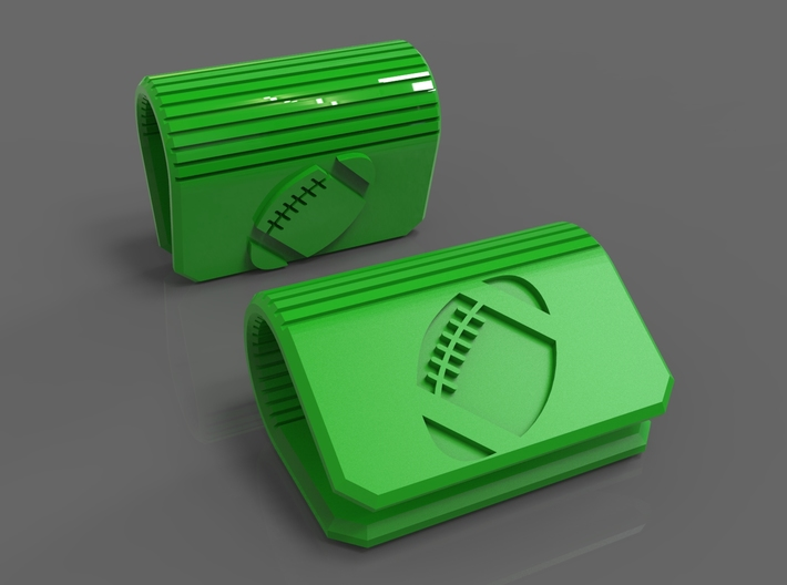 Webcam Privacy Cover Football Edition 3d printed Football Webcam Security Cover