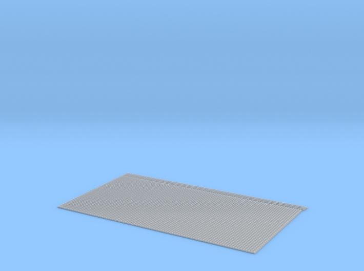 Spanish Clay Tile Roof N 1:160 FUD 3d printed