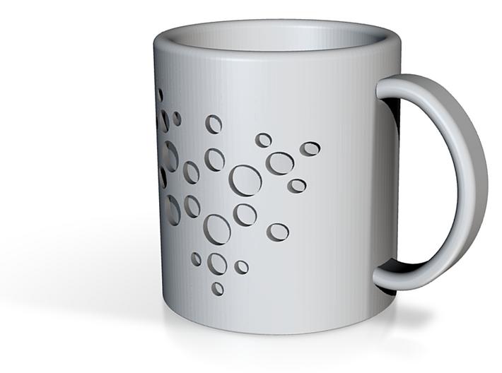 Caffeine Molecule Coffee Cup, Coffee Mug 3d printed