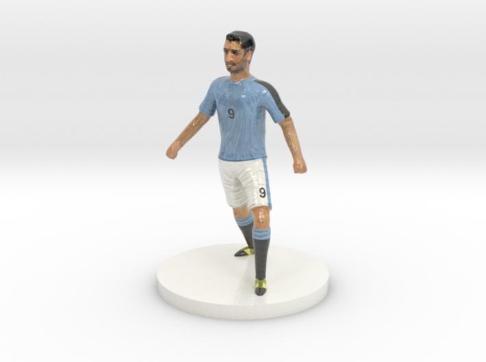 Uruguayan Football Player 3d printed