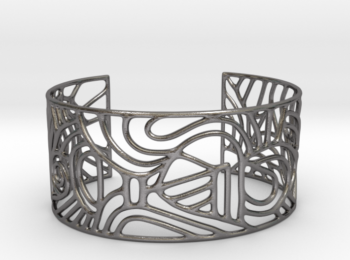 Cuff abstract no. 12 3d printed
