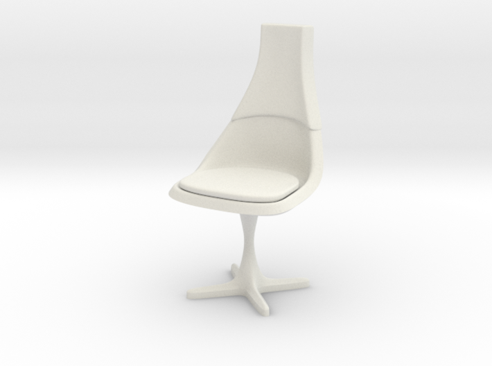 TOS Chair 115 1:24 Scale 3d printed