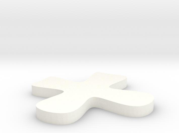 Tic Tac Toe X 3d printed