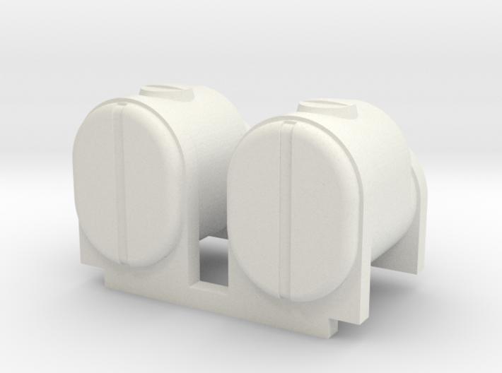 2 Square Bottom Tanks 200 Gal 3d printed
