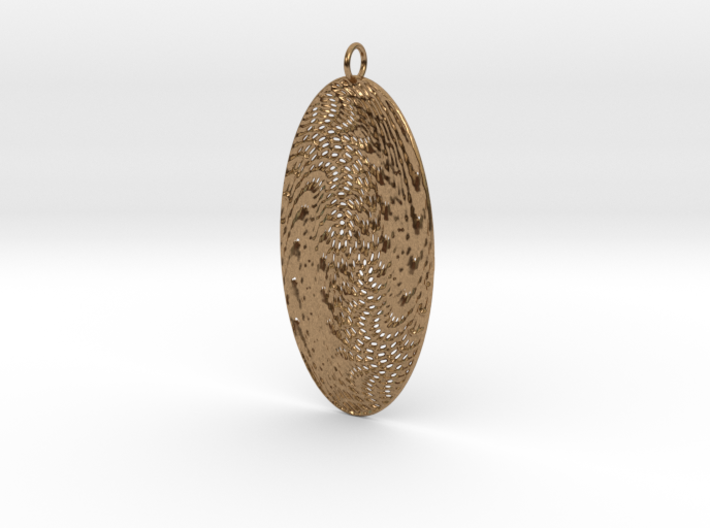 Texture #5 Pendant 3d printed