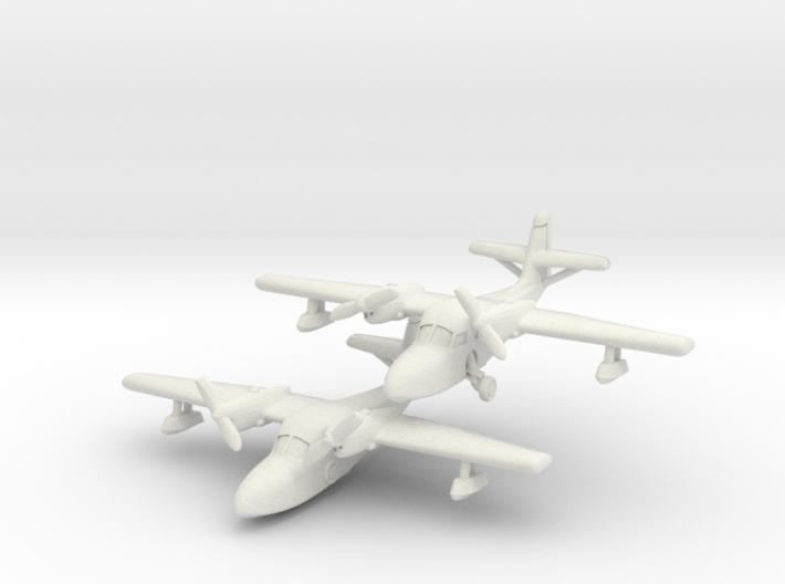 Grumman J4F Widgeon (two airplanes) 6mm 1/285 3d printed