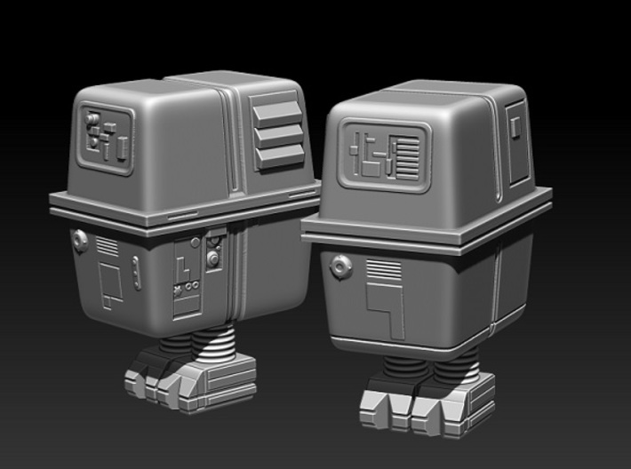 Gonk droid Tabletop Scale 28/32 mm 3d printed