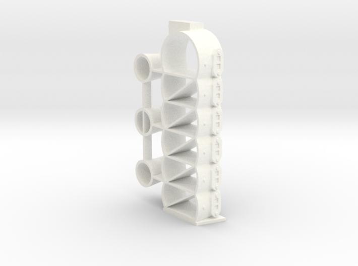 CYLINDER - BLOCK 1, MERCURY MARK 75 3d printed