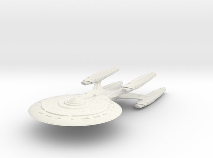 Florio Class ScienceCruiser 3d printed