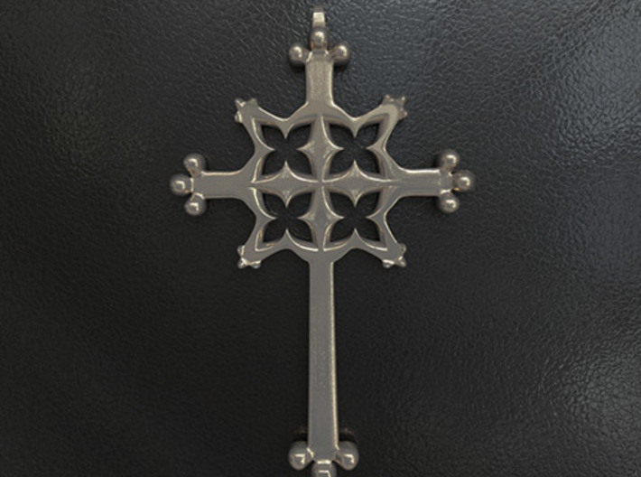 Gothic Cross Small 3d printed