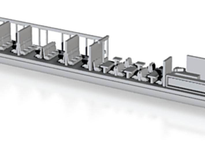 Transalpin Buffetwagen002 Scale TT 3d printed