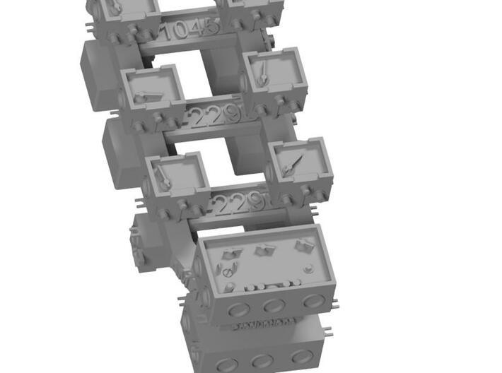 1/35 and 1/16 AN/VIC-1 Intercom Set MSP35-004 3d printed
