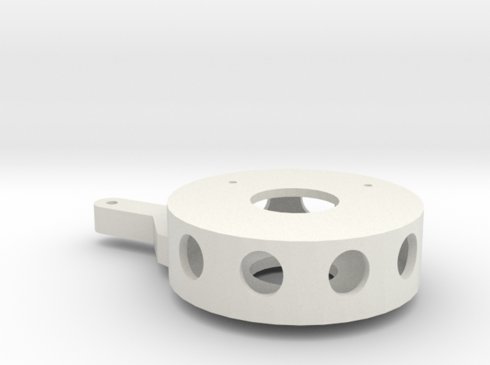 Silent running: robot drone arm rotator connector 3d printed