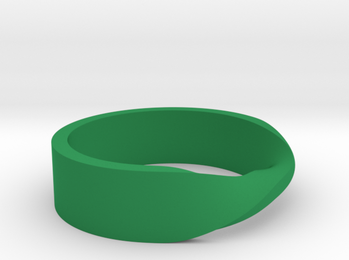 Ring Mobius 3d printed