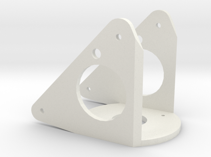Silent Running: robot drone arm pivot connector (p 3d printed