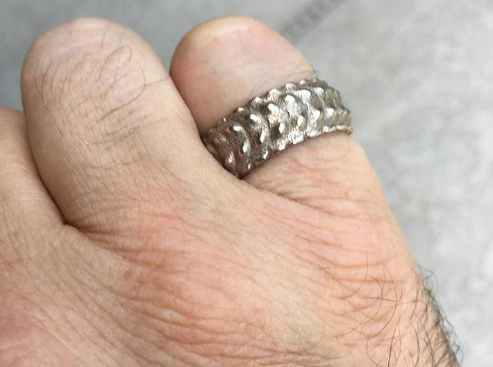 V RING 8 TRIMMED   3d printed