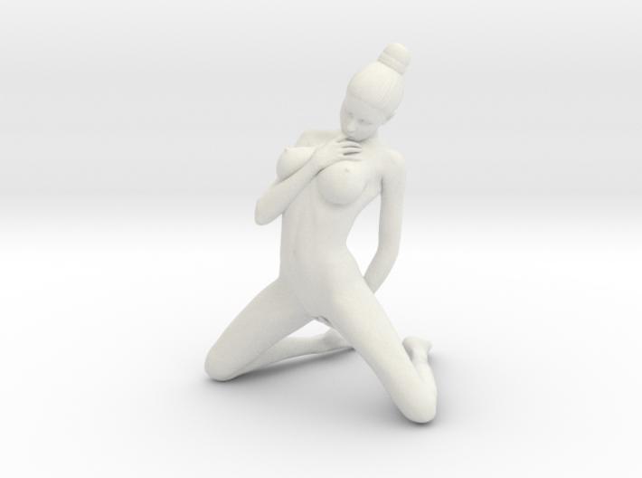 1/10 Hot Girl Kneeling 3d printed