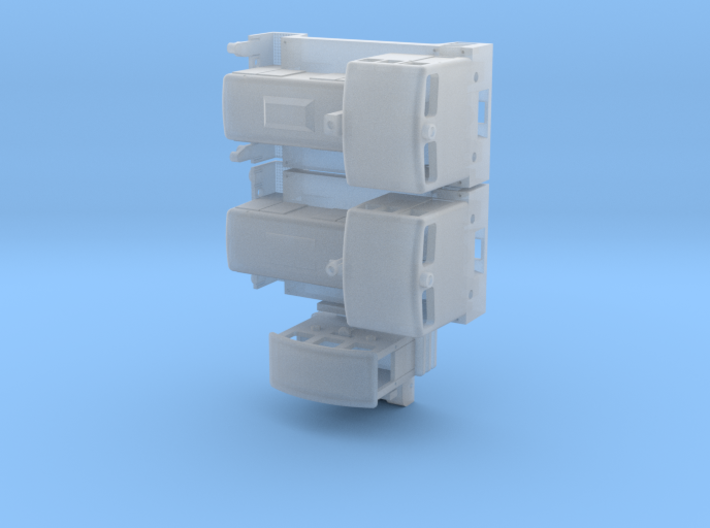 V10B, V15B, Breuer Schienentr. (1/200) für Spur Z 3d printed