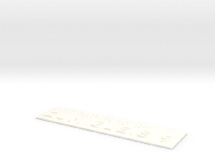 ZUM GLEIS 9 3d printed
