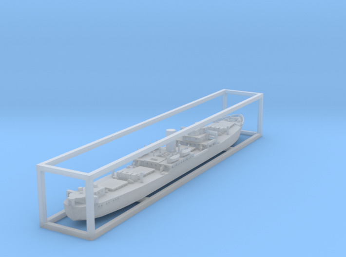 1:1250 Dutch freighter Zonnewyk 3d printed