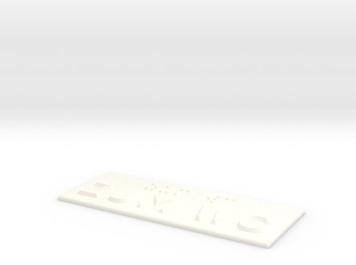 ZUM WC 3d printed
