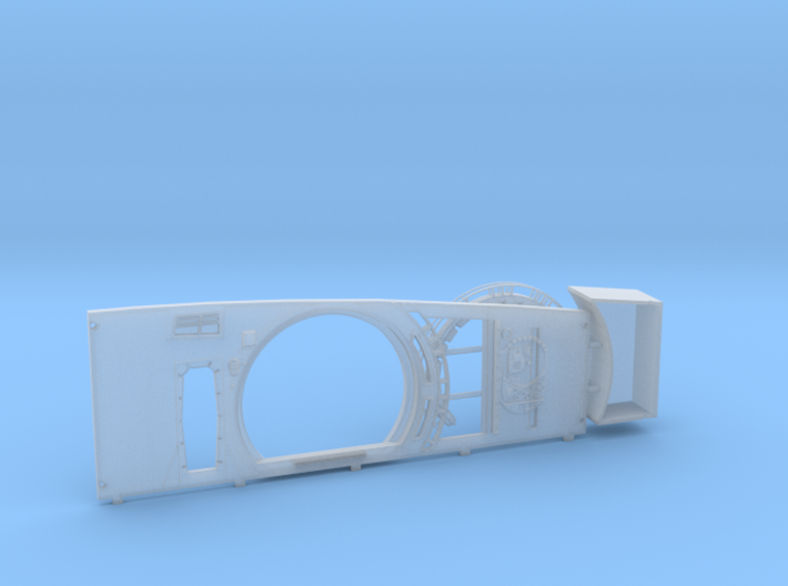 ESB Port Side Wall for DeAgo Falcon Complete (HD) 3d printed