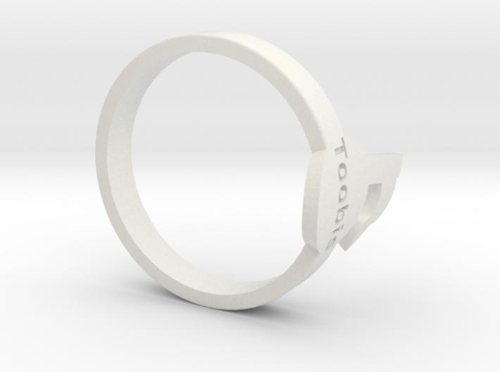 Toobis TagPro Ring 3d printed
