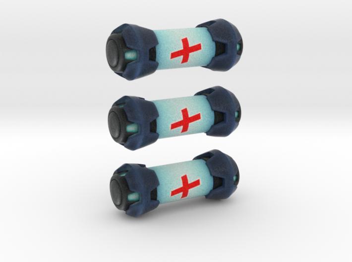 Overwatch Health Kit Piece (3pcs) 3d printed