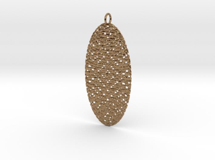 Texture #2 Pendant 3d printed