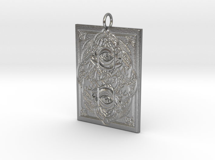 Watchers Pendant 3d printed
