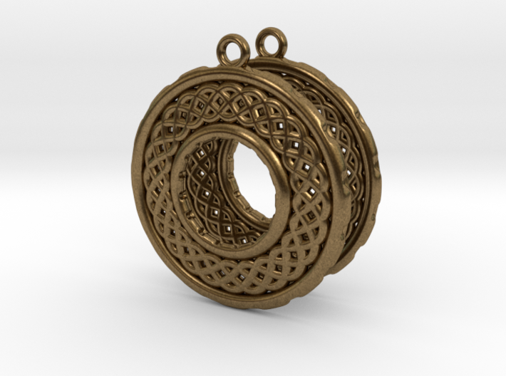 TreeSin Earrings 3d printed