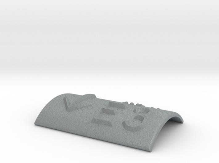 E3 mit Pfeil nach unten 3d printed