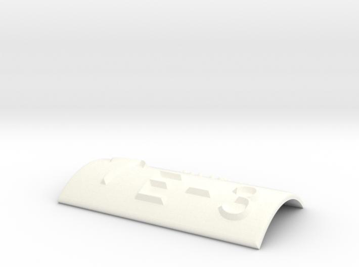 E-3 mit Pfeil nach oben 3d printed