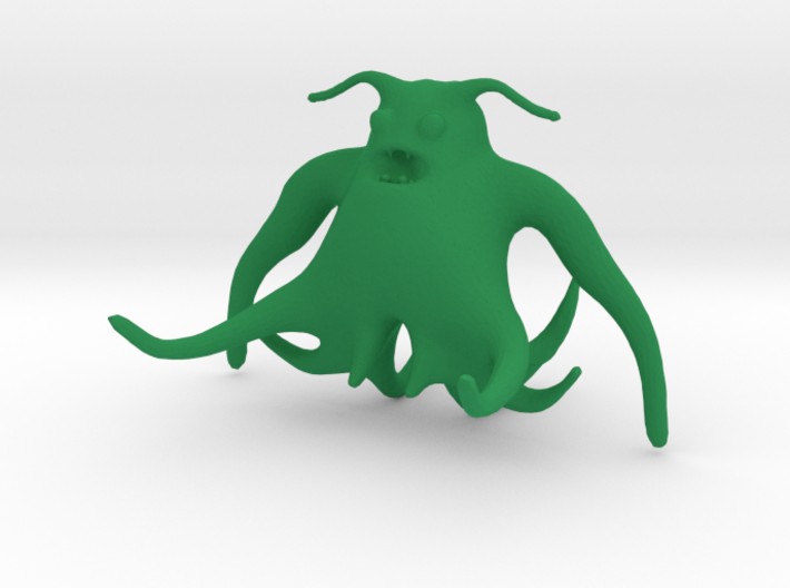 Tentaglow the Friendly Squid 3d printed