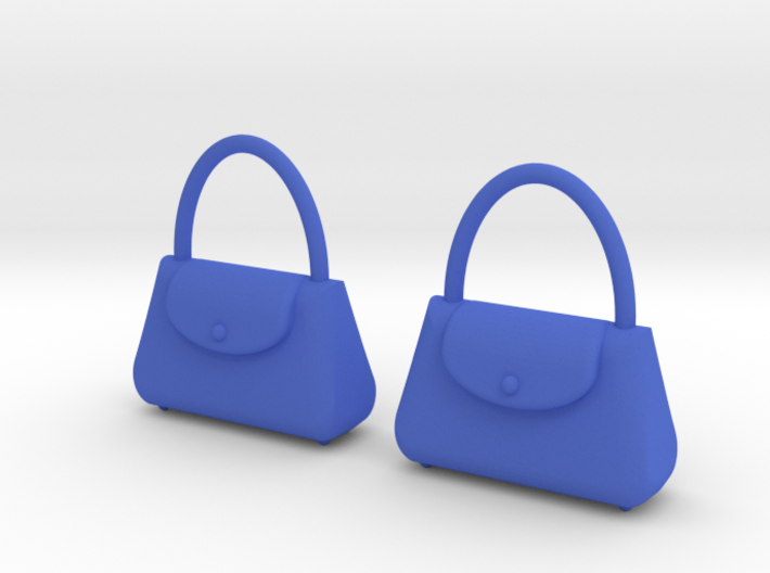 Purse Earrings 3d printed